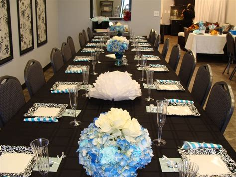 baby shower table settings photos baby boy shower table setting baby shower pinterest