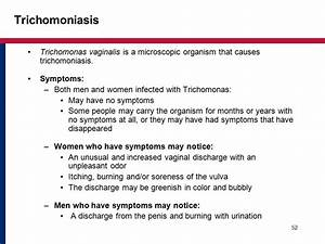 Trichomoniasis - Sexually Transmitted Diseases