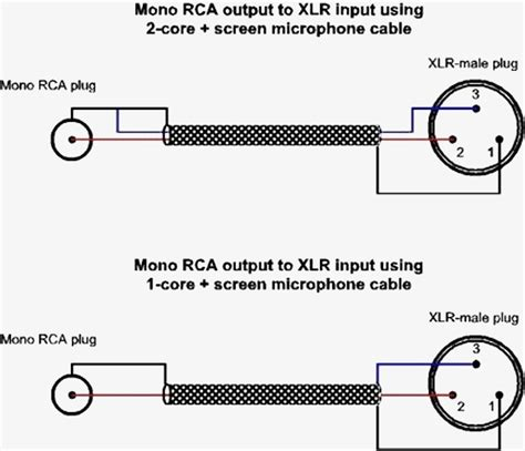 xlr to mono wiring diagram free wiring diagram