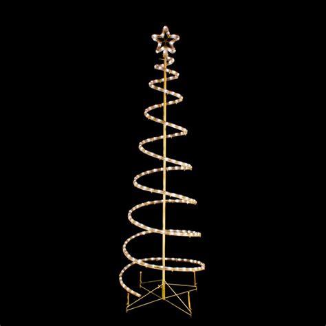 lighted spiral trees outdoor rainforest