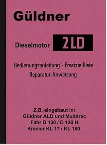 G U00fcldner Diesel Engine 2ld Operating Instructions Repair
