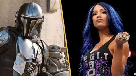 Sasha Banks In The Mandalorian Season 2 Trailer. - WWE ...