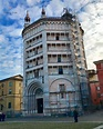 Baptistery of Parma, Northern Italy | Beautiful places to ...