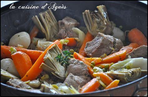 veau cuisine sauté de veau aux légumes printaniers blogs de cuisine