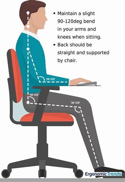 Ergonomic Chair Office Workspace Perfect Posture Proper