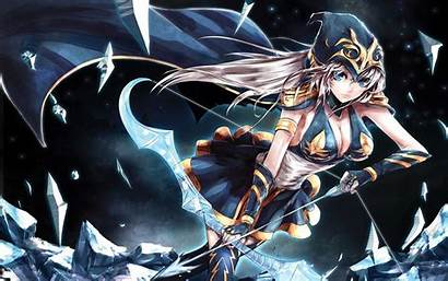 Anime Ashe Legends League Games Gamer Wallpapers
