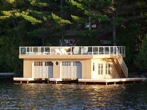 Boat House Ca by The Two Story Boathouse