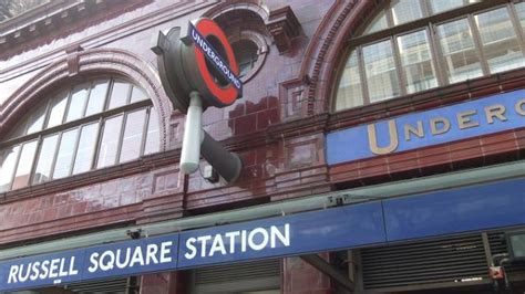 russell square underground station   london