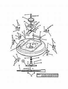 33 U0026quot  Mower Deck Diagram  U0026 Parts List For Model Szt18336bve