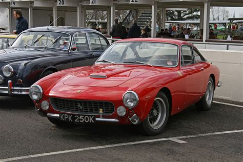 Equipped with a v12 engine. Ferrari 250 GT Lusso — Wikipédia