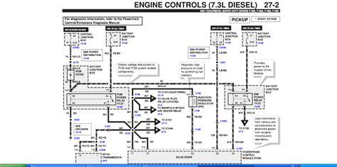 2000 F250 Obd2 Wiring Diagram by 2001 Ford F350 7 3 Diesel Automatic 4x4 Was Running