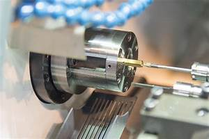 Old Manual Lathe Closeup Stock Photo  Image Of Industry