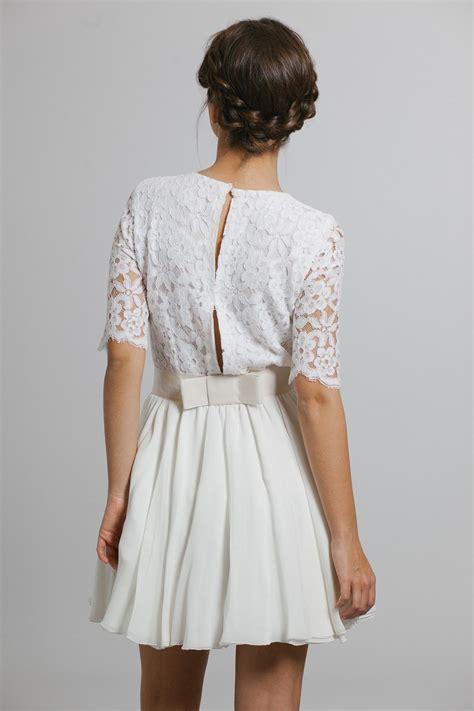 robe chic pour mariage civil tenues chic pour un mariage civil madame figaro
