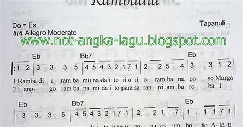 not angka lagu lir ilir not angka lagu rambadia tapanuli kumpulan not angka lagu