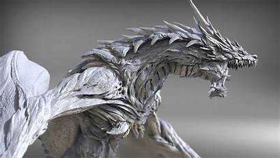 Dragon Keita Okada Concept Zbrush Artstation Sketchbook