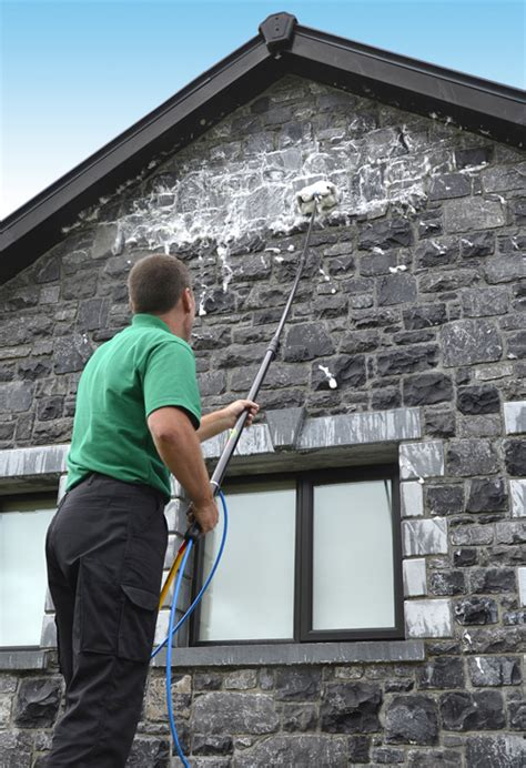 wall cleaning in county galway and county mayo outcide