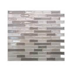 do it yourself kitchen backsplash smart tiles muretto 10 25 in w x 9 125 in h beige mosaic
