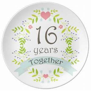 16th year wedding gifts t shirts art posters other With 16th wedding anniversary gift