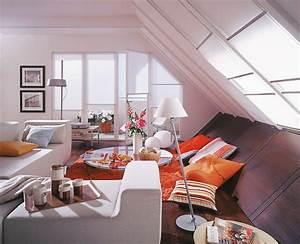 Zimmer Mit Schrägen : staurauml sung f r schr gen wohnzimmer sch ner wohnen ~ Lizthompson.info Haus und Dekorationen