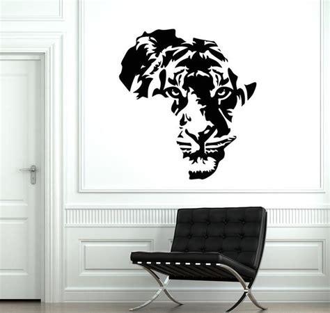 Wall Vinyl Decal Africa Tiger Animal Predator African