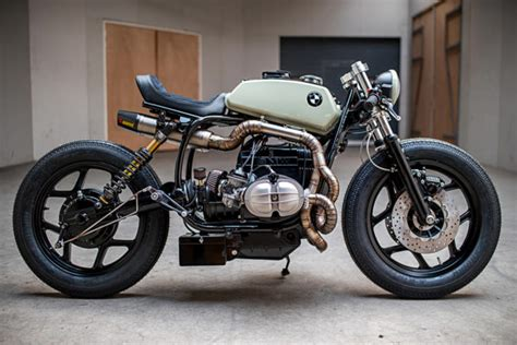 bmw r80 cafe racer the mutant an angry bmw r80 by ironwood motorcycles