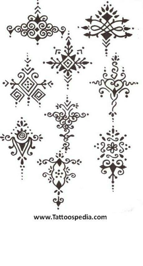 vorlagen klein henna motive gro 223 klein henna t 228 towierung