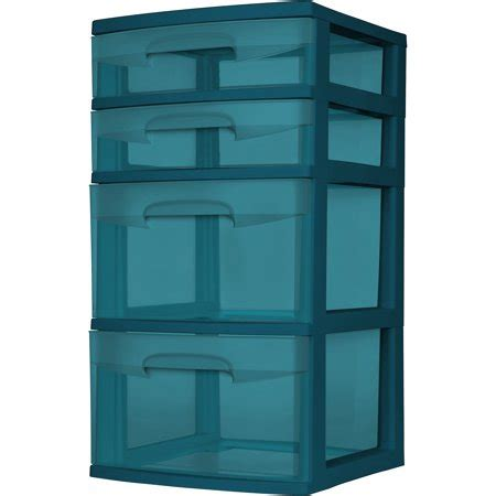 sterilite 5 drawer tower sterilite 4 drawer tower set of 2 walmart