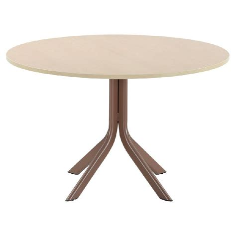 table cuisine ronde pied central table ronde cuisine pied central table salle a manger 140 cm maison boncolac