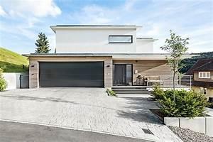 Haus Mit Integrierter Garage : architektenhaus beilharz haus ~ Frokenaadalensverden.com Haus und Dekorationen