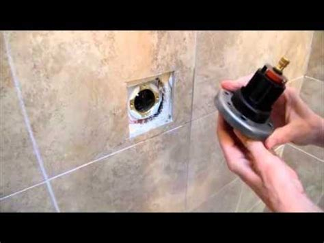 kohler forte single handle shower faucet repair youtube