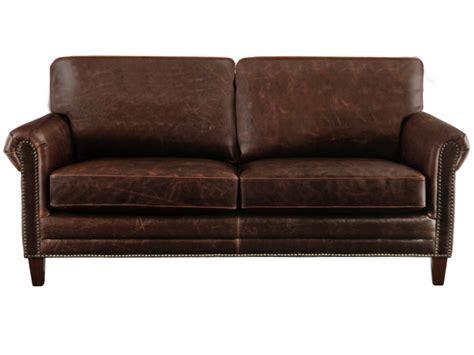 canap fauteuil canapés et fauteuils en cuir vieilli chocolat