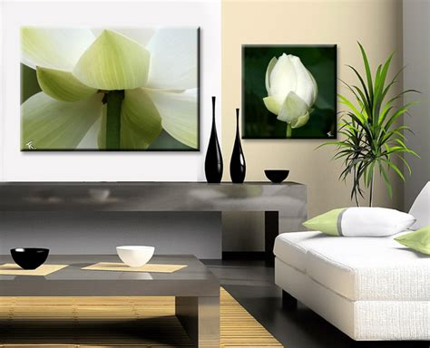 decoration salon zen vert