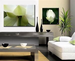Neon Deco Chambre : decoration salon blanc et vert ~ Melissatoandfro.com Idées de Décoration