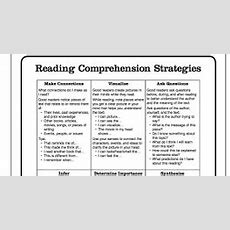 Excellent Chart Featuring 6 Reading Comprehension
