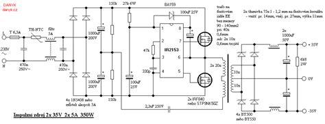 smps simetris 2 x 35 v non regulated untuk lifier pojok elektronik