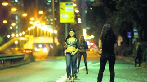 prostituierte auf der straße