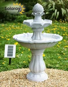 fontaine solaire l39imperiale 15999 With fontaine solaire de jardin
