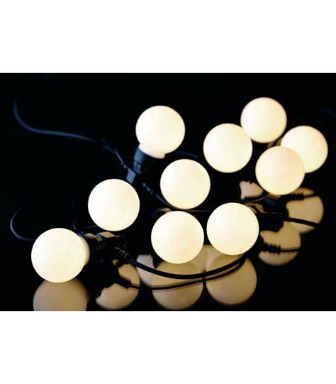 guirlande extérieure guinguette guirlande lumineuse ext 233 rieure leds blanche guinguette