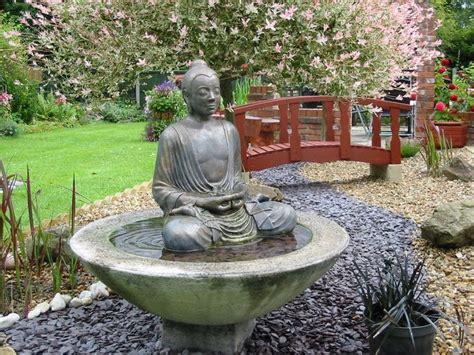 LARGE BUDDHA WATER FEATURE FOUNTAIN OUTDOOR GARDEN PATIO
