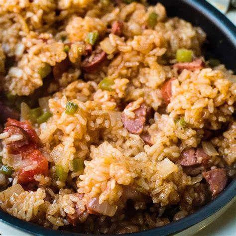 rice cooker sausage jambalaya recipe ashlee marie