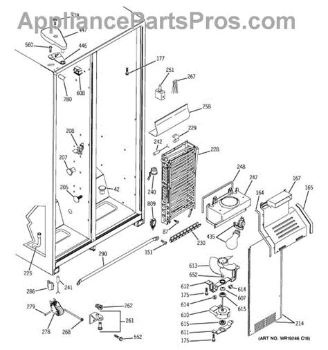 Water Heater Wire Diagram For Hotpoint by Ge Wr87x29147 Refrigerator Evaporator 25