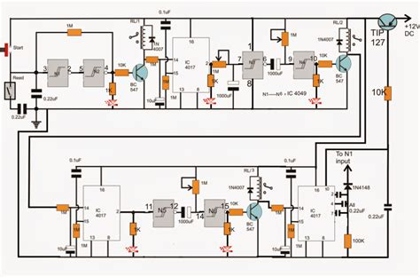 how to make a industrial tank water fill drain controller circuit