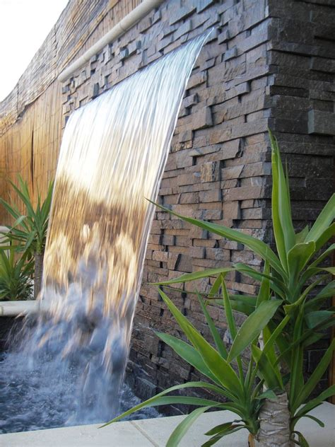 outdoor feature walls outdoor 171 innovative water features and surroundings