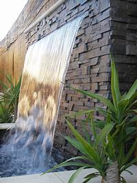 water wall fountain Outdoor Â« Innovative Water Features and Surroundings