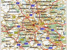 CologneKoln Map at tobookcom