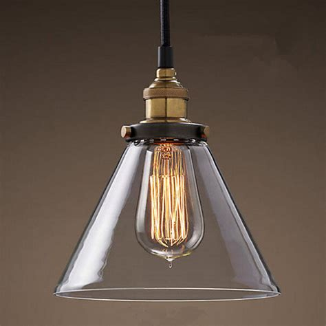 retro ls glass pendant ls vintage hanging light