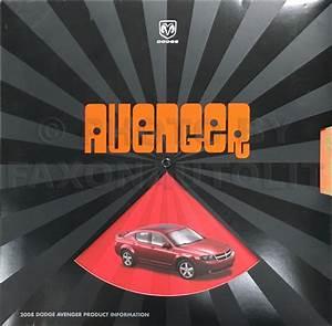 2008 Chrysler Sebring  U0026 Dodge Avenger Repair Shop Manual
