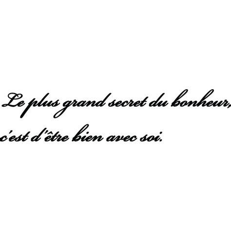 stickers phrase cuisine sticker citation secret du bonheur stickers citation