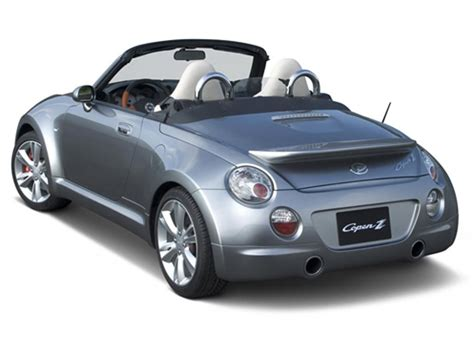 Daihatsu Copen technical specifications and fuel economy