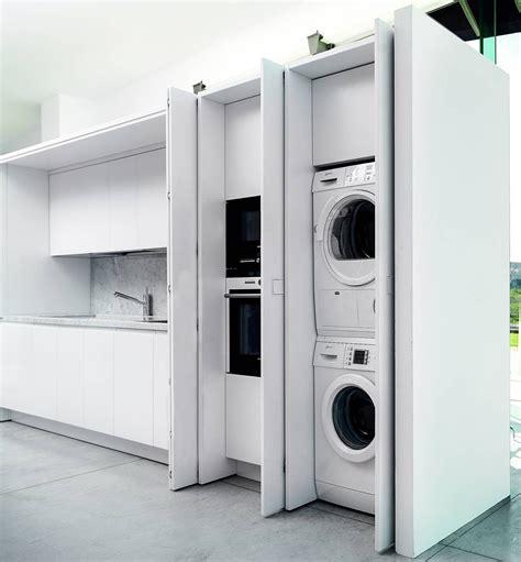 le pareti in legno o lavanderia integrata in cucina ambiente cucina